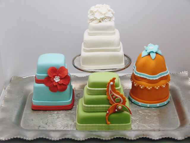 Single and Tiered Mini Cakes