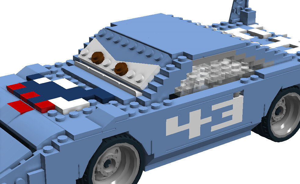 The King Strip Weathers Disney Pixar Cars Movie Chara Flickr