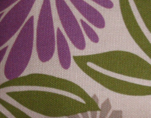 Purple and Green Fabric for Critters | by Roland and Bean