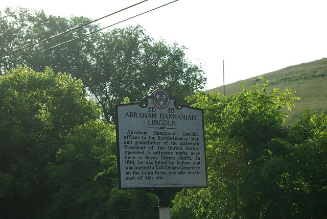 Historic Marker, Border of Clay and Overton Co, Tennessee