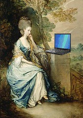 Anne, Countess of Chesterfield, Blogging, after Thomas Gainesborough | by Mike Licht, NotionsCapital.com