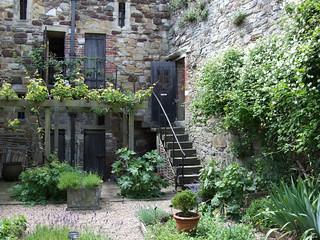 Medieval Herb Garden, Ypres Tower, Rye, East Sussex.   by Jim Linwood
