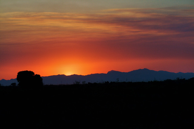 Sunset Over the Gila River Indian Community 3