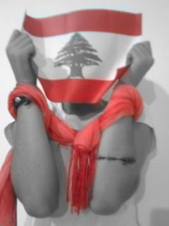 """""""Speak up for Peace"""" """"Peace for Lebanon"""""""