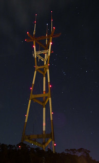 Sutro Tower and Orion | by Eliya