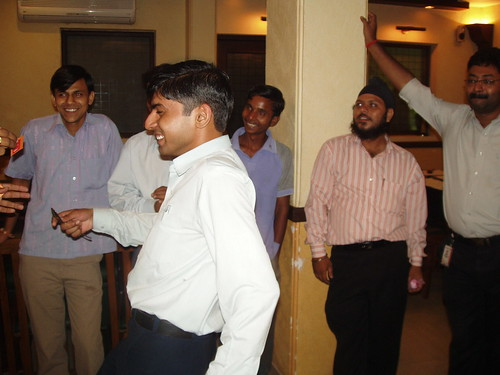 Month End celebrations, September 2007   by OSSCube