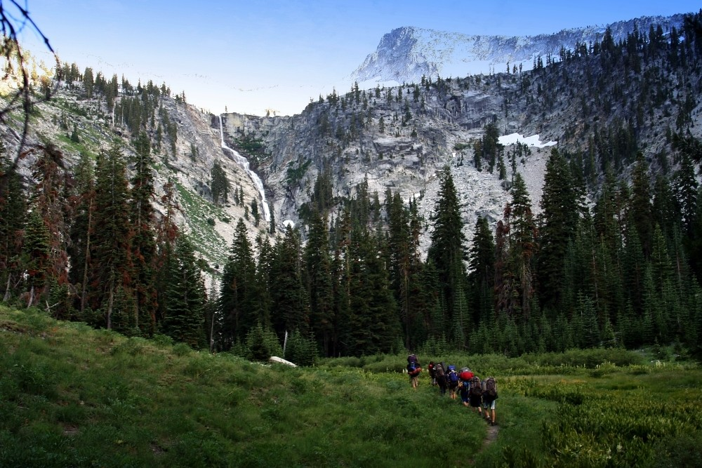 Camp Unalayee Kids - Trinity Alps