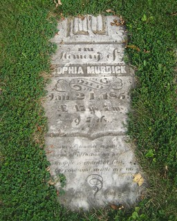 Sophia Murdick - buried 1859 at the Old Springfield Cemetery, South Dorchester, Elgin, Ontario Canada | by Elgin OGS