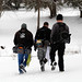 Snowy day at Lakewood