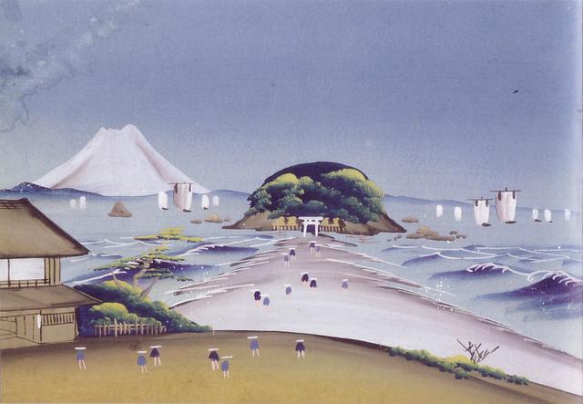 「江ノ島」(江戸時代・19世紀頃)