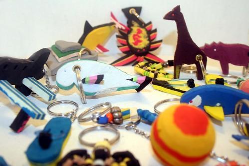 Keyrings Assorted   by uniqueco.designs (flipflopiwas)