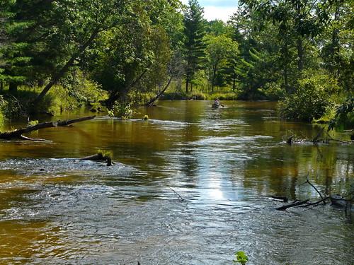reflection nature water river michigan panasonic serene kayakers serenitynow wier manisteecounty fz18 littlemanisteeriver jimflix