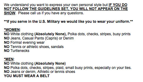 bde32fddbc8fb Just in case you were wondering about the dress code for Family Feud.