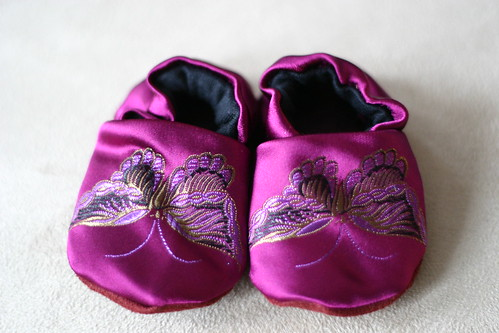 baby shoes, butterflies | by jsquared816