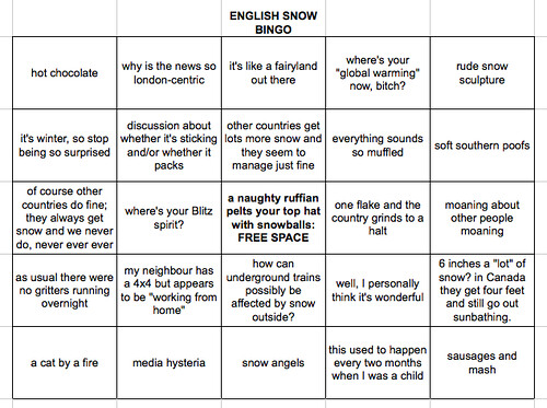 english snow bingo | by angel