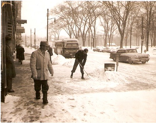 park county street winter ohio snow st square 60s market ave 1950s oh warren courthouse avenue trumbull