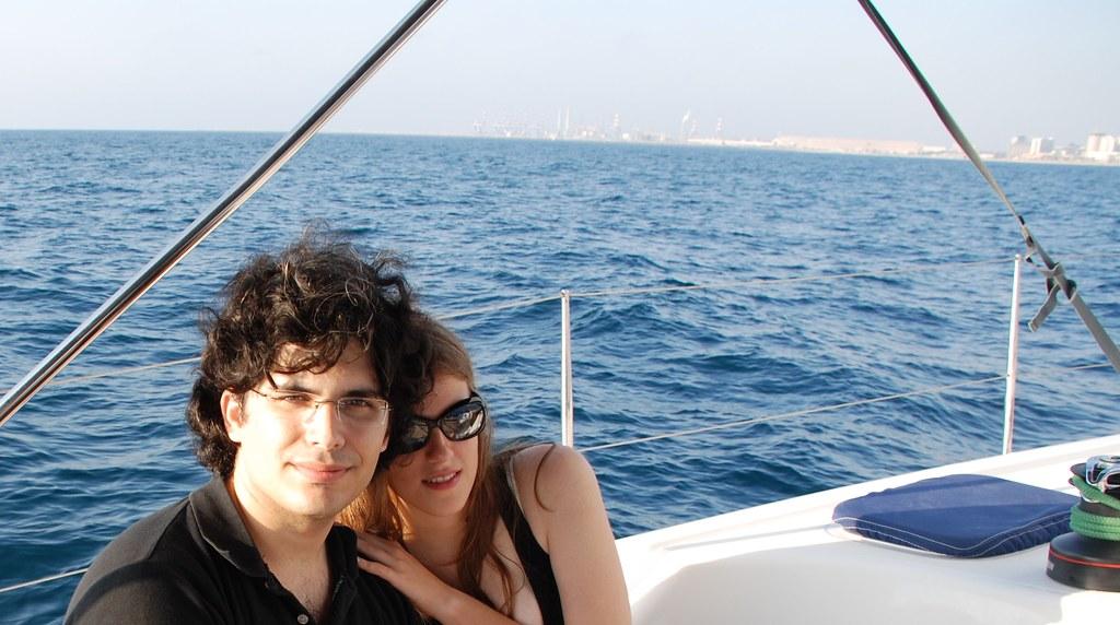 Ashdod Marina: Me & Moran Went For A Cruise In The Ashdod Marina To Cele