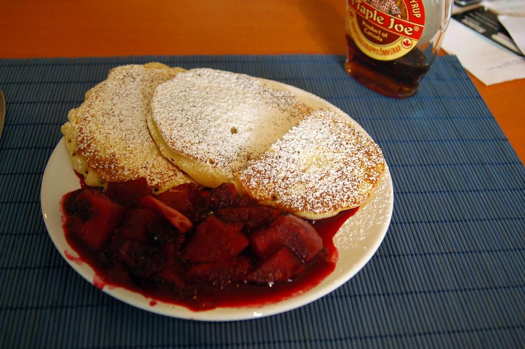 recipe of pancake