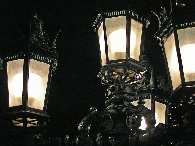 Lamp post lights