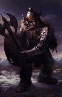 Fantasy Dwarf Male Art
