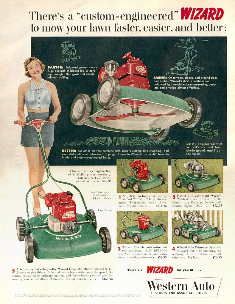 western auto | Advertisement from the Western Auto chain for… | Flickr