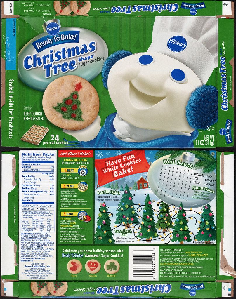 Pillsbury Ready To Bake Christmas Tree Shape Sugar Cookies Flickr