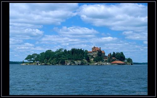 usa ny ontario castle 35mm château singercastle thousandisland résidence ecktachrome villégiature photoquebec yvesgervais