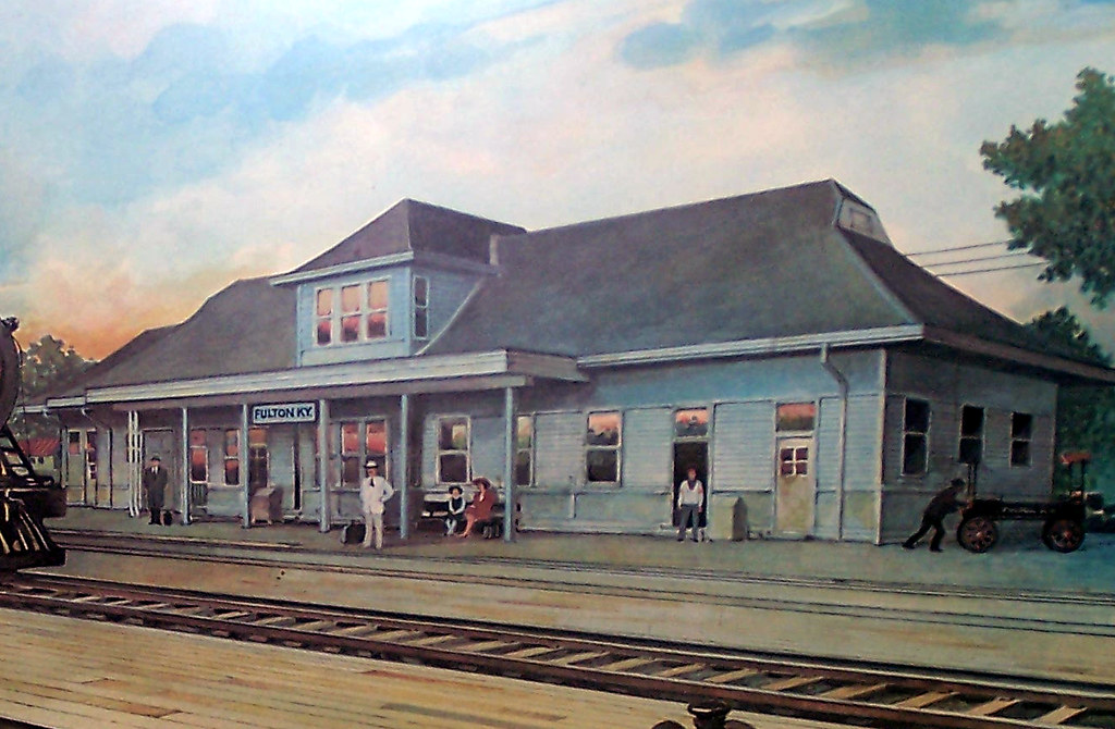 Illinois Central Railroad Depot, Fulton KY (2)