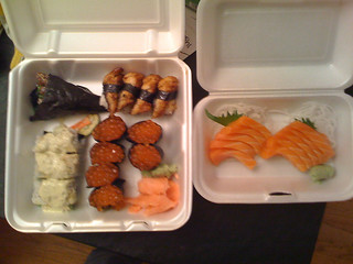 Take out sushi | by twid