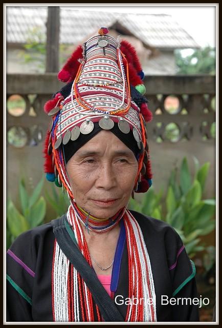 Mujer Akha - Chiang Rai