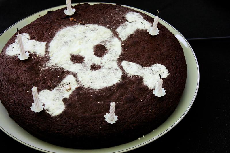 Gâteau pirate