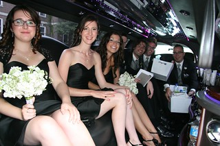 Bridal Party in the limousine | by balleyne