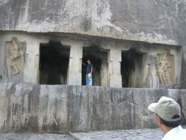 Shrines for Brahma, Vishnu and Shiva
