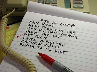 Day 092/366 - To Do List | by Great Beyond
