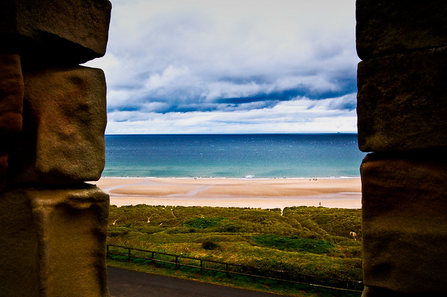 North Sea, from Bamburgh Castle