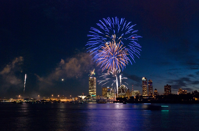 july 4th fireworks in milwaukee, wi