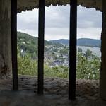 Vista dalle scale per risalire alla fortezza
