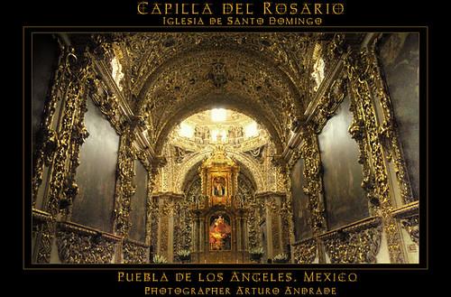 Church of Santo Domingo, Puebla México