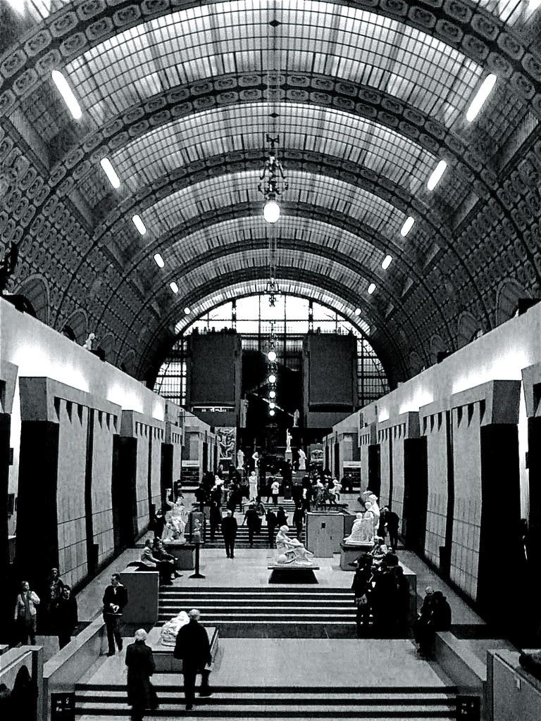 Photo Noir Et Blanc Design le musée d'orsay---paris noir et blanc | regis frasseto | flickr