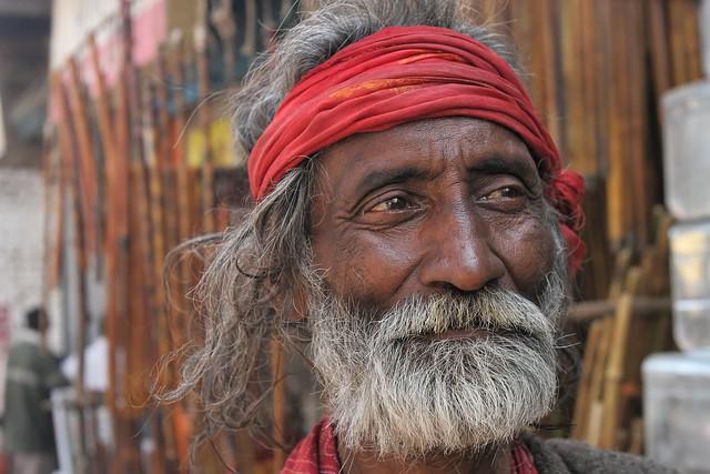 Inde du nord: le bandeau rouge.