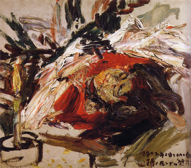 熊谷守一「陽の死んだ日」(1928)