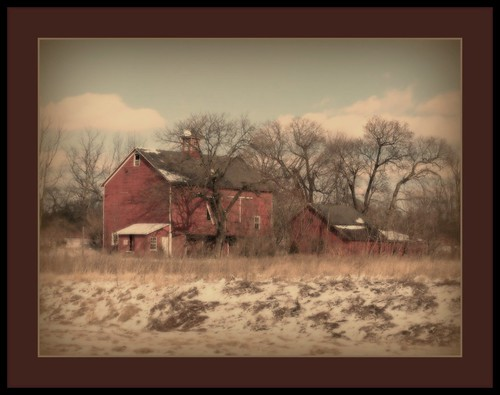 old trees winter red sky snow abandoned clouds barn vintage landscape pennsylvania farm rustic pa decayed mywinners abigfave platinumphoto anawesomeshot citrit theunforgettablepictures goldstaraward