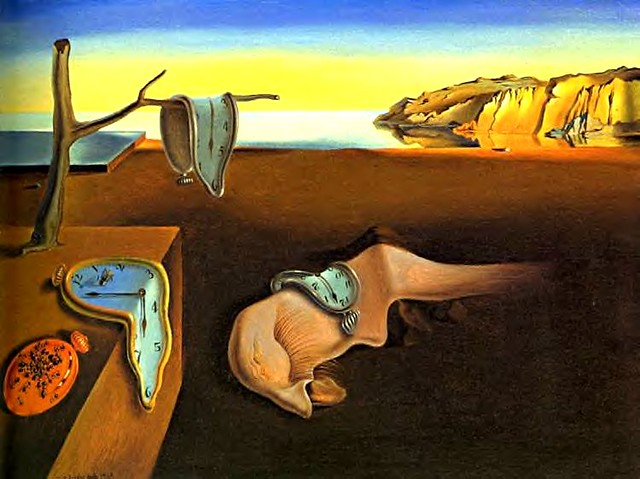 Dali, Salvador (1904-1989) - 1931 The Persistence of Memory