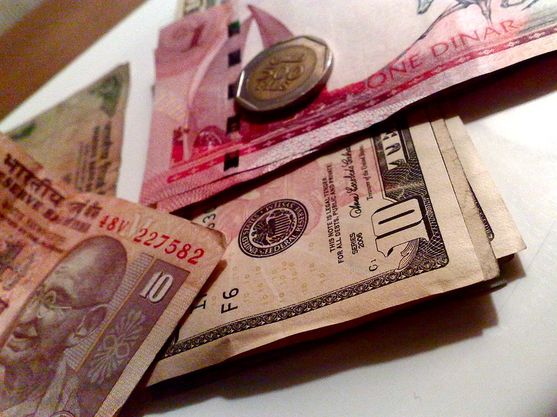 Currency conversion confusion