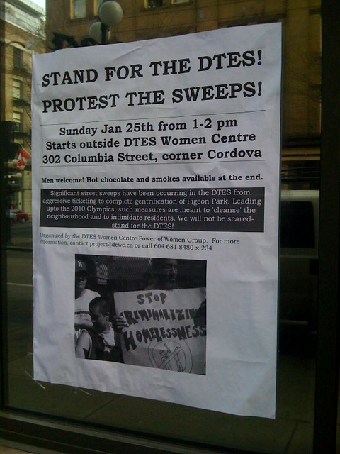 STAND FOR THE DTES