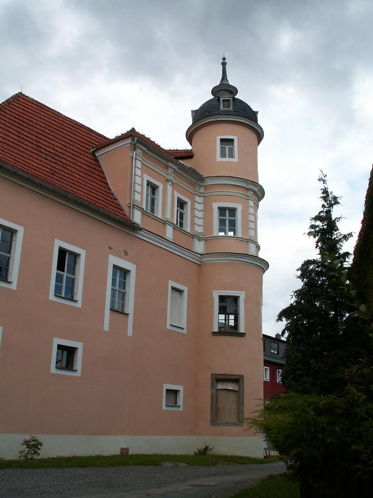 Schloss Reichstaedt in Sachsen - ein Ort den Geist an deinem Blick' zu sonnen, sperre dich ein, doch die Weisheit wohnt nicht in der weiten Welt, denn der Weise lebt sich nicht allein 019