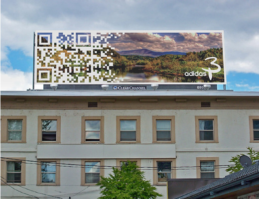 Adidas QR Code Concept | Created by LynkSnap™ for Clear Chan