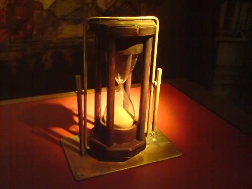 Sand Clock at Granada museum