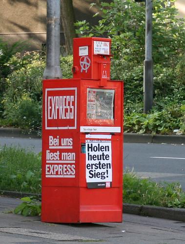 Express Schlagzeile