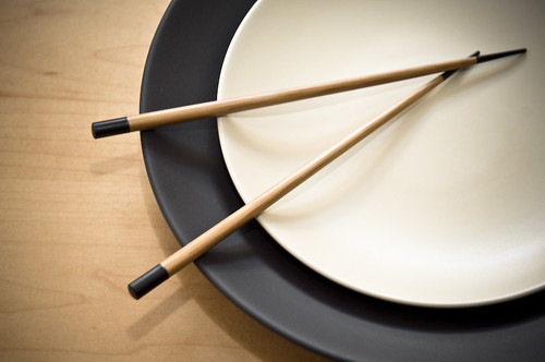 Chinese Plate with Chopsticks (b) | by TheBusyBrain